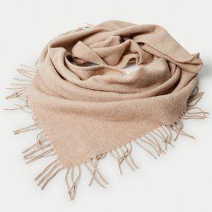 Aritzia Wilfred Classic Wool Triangle Scarf
